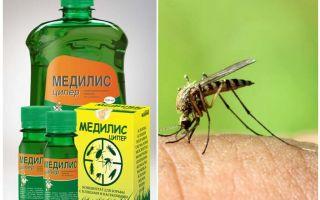 Phương tiện của Medilis Tsiper chống lại muỗi