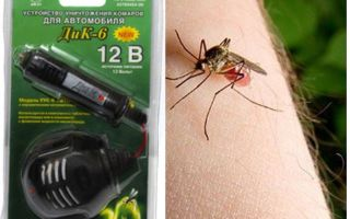 Thuốc chống muỗi trong xe