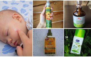 Kinh phí từ muỗi và trung gian cho trẻ dưới 1 tuổi
