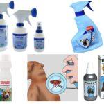 Flea Sprays cho chó