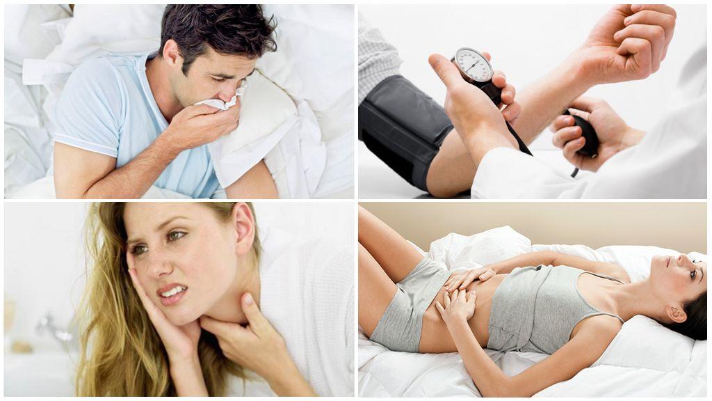 Các triệu chứng của bệnh sau khi bị bọ ve bị nhiễm bệnh cắn