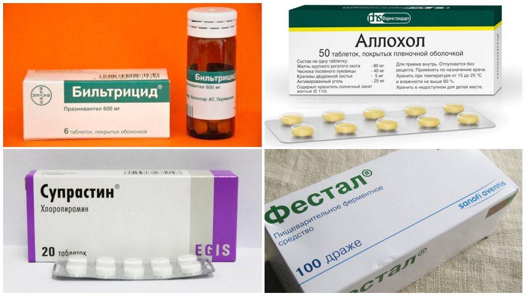 Điều trị bệnh opisthorchiasis